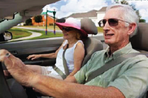 More older Floridians are using Florida roads, whether driving, walking, cycling, or riding. Assuring their safety and their safe use of roadways is an ongoing project for the Florida Department of Transportation.
